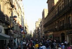 Calle Madero, la Shopping Street de Ciudad de México