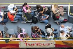 Noches de cantina en el Turibus de CDMX