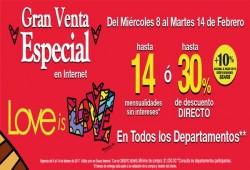 Ofertas para celebrar San Valentín en Sears