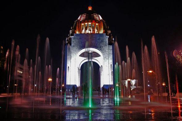 Paisajes luminosos de Ciudad de México